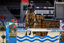 BETZ Niklas (GER), Caruso<br /> Preis des Handwerks und Mittelstands <br /> Finale Deutsches Hallenchampionat der Landesmeister<br /> Nat. jumping competition cl. S***<br /> Braunschweig - Classico 2020<br /> 06.03.20<br /> © www.sportfotos-lafrentz.de/Stefan Lafrentz