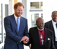 Prince Harry Meets Archbishop Desmond Tutu