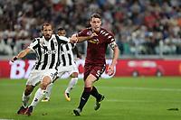 23.09.2017 - Torino - Serie A 6a giornata   -  Juventus-Torino  nella  foto: Andrea Belotti e Giorgio Chiellini