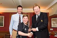 Lewis Thompson Donaghadee/Ballyholme 1st place 4.2 Fleet