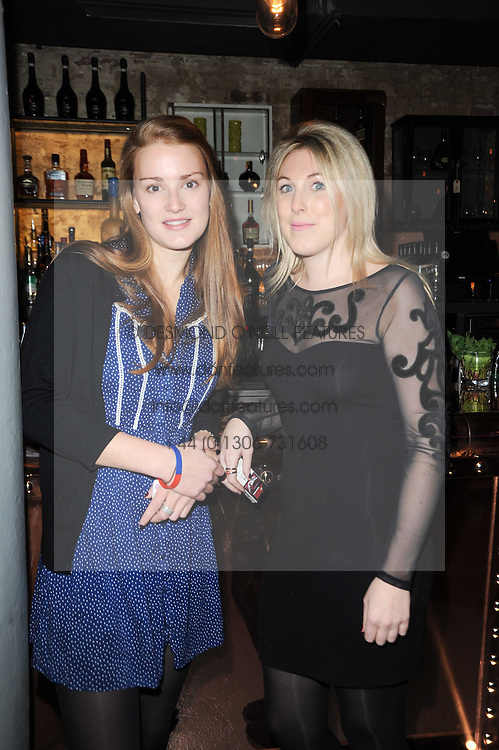 ANNABEL POOL and ALICE MACMILLAN at the launch party for the new nightclub Public at 533 Kings Road, London on 2nd December 2010.