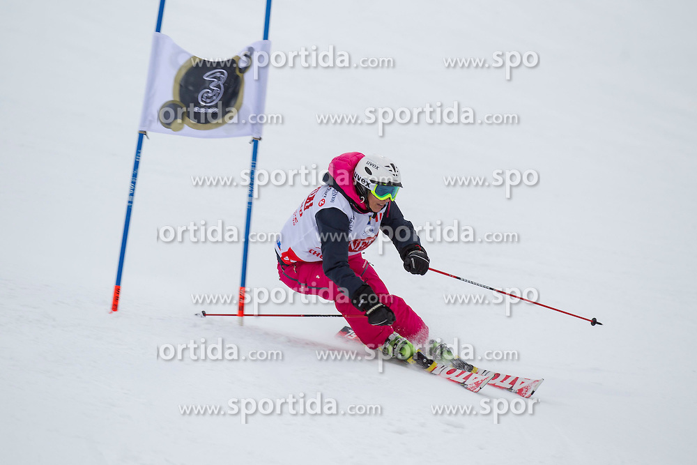26.01.2015, Planai, Schladming, AUT, FIS Skiweltcup Alpin, Schladming, Sporthilfe Charity Promi Race, im Bild Michaela Dorfmeister // Michaela Dorfmeister during the Sporthilfe Charity VIP race at the Planai Course in Schladming, Austria on 2015/01/26, EXPA Pictures © 2015, PhotoCredit: EXPA/ Erwin Scheriau