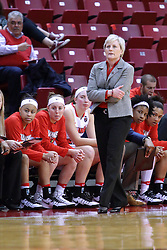 01 January 2017: Barb Smith during an NCAA Missouri Valley Conference Women's Basketball game between Illinois State University Redbirds the Braves of Bradley at Redbird Arena in Normal Illinois.