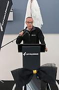 Steve Lindsay, First Splash at the opening of the Sir Owen Glenn National Aquatic Centre, AUT Millennium, North Shore, Auckland, New Zealand, Saturday, August 01, 2015. Copyright photo: David Rowland / www.photosport.nz