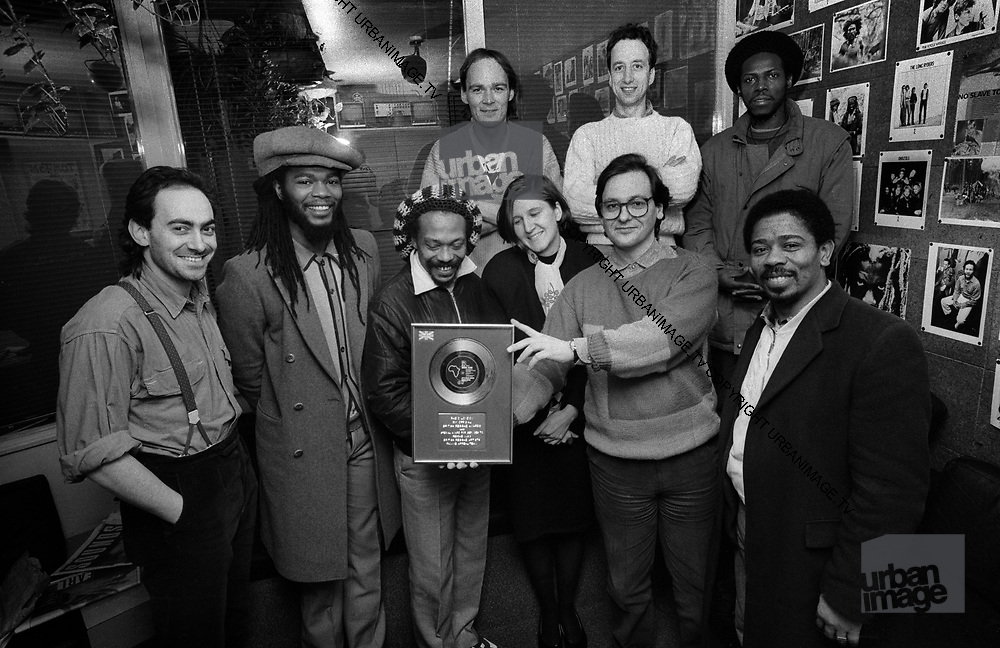 British reggae artists family appeal team Lets Make Africa Green Again
