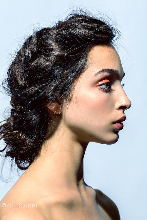 Model: Allegra Preuss @Crystal      Hair&MU: Jean Pierre Canavate @ Ann Ramirez