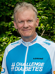 24-06-2017 NED: We Bike 2 Change Diabetes, Landgraaf<br /> Oefenweekend voor 15 deelnemers die in september de Tour de Mont Blanc gaan doen. Jaap
