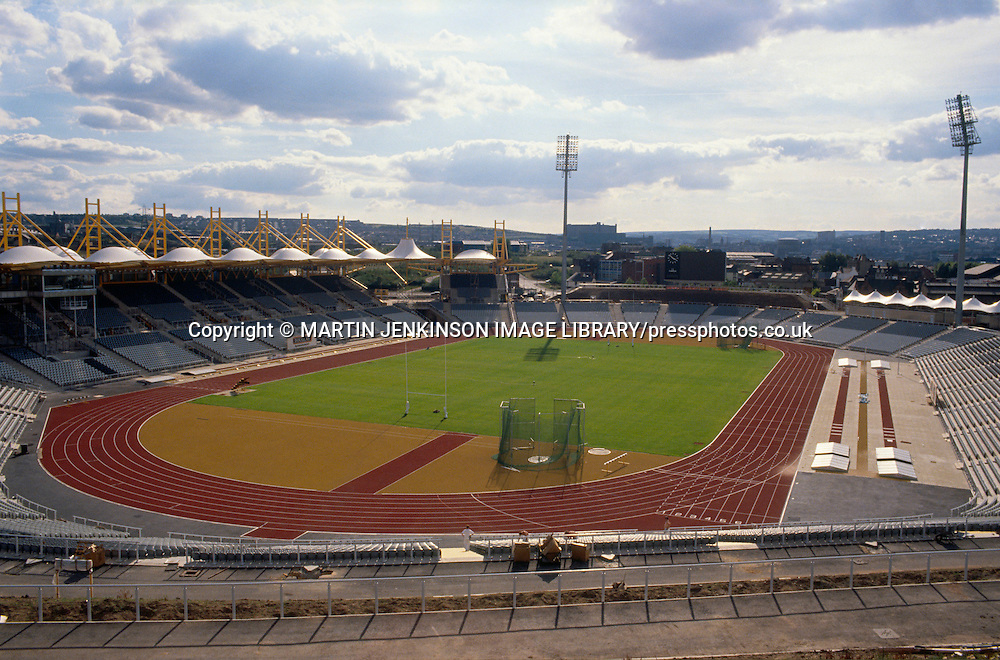 Don Valley sports stadium in Sheffield a venue for pop rock concerts as well as athletics rugby and other sporting events ......