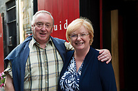 18/07/2017 Repro Free:    Derrick and Moyra McMahon Ulster Bank at the opening night of Crestfall by Mark Rowe directed by Annabelle Comyn at the Mick Lally Theatre, Druid Lane Galway  during the 40th Galway International Arts Festival. Photo:Andrew Downes, xposure .
