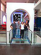 The Crew of National Geographic, Annie Grifits Bell, Bryan Harvey,Alfredo Maiquez at Decapolis hotel, Panama