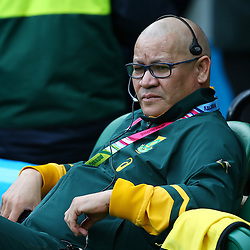 LONDON, ENGLAND - OCTOBER 17: Charles Wessels (Operational Head) during the Rugby World Cup Quarter Final match between South Africa and Wales at Twickenham Stadium on October 17, 2015 in London, England. (Photo by Steve Haag/Gallo Images)