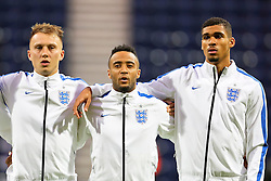 Cauley Woodrow, Nathan Redmond and Ruben Loftus-Cheek of England U21  - Mandatory byline: Matt McNulty/JMP - 07966386802 - 03/09/2015 - FOOTBALL - Deepdale Stadium -Preston,England - England U21 v USA U23 - U21 International