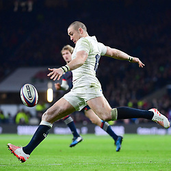 Mike Brown of England during the RBS Six Nations match between England and France at Twickenham Stadium on February 4, 2017 in London, United Kingdom. (Photo by Dave Winter/Icon Sport)