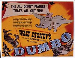 1941, Film Title: DUMBO, Director: BEN SHARPSTEEN, Studio: DISNEY, Pictured: ELEPHANT, 1941, CIRCUS, POSTER ART, ILLUSTRATION, CARTOON, ANIMATION. (Credit Image: SNAP/ZUMAPRESS.com) (Credit Image: © SNAP/Entertainment Pictures/ZUMAPRESS.com)