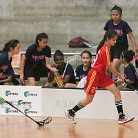 2016 National B Div Girls Floorball Semis: Bukit Merah vs Coral