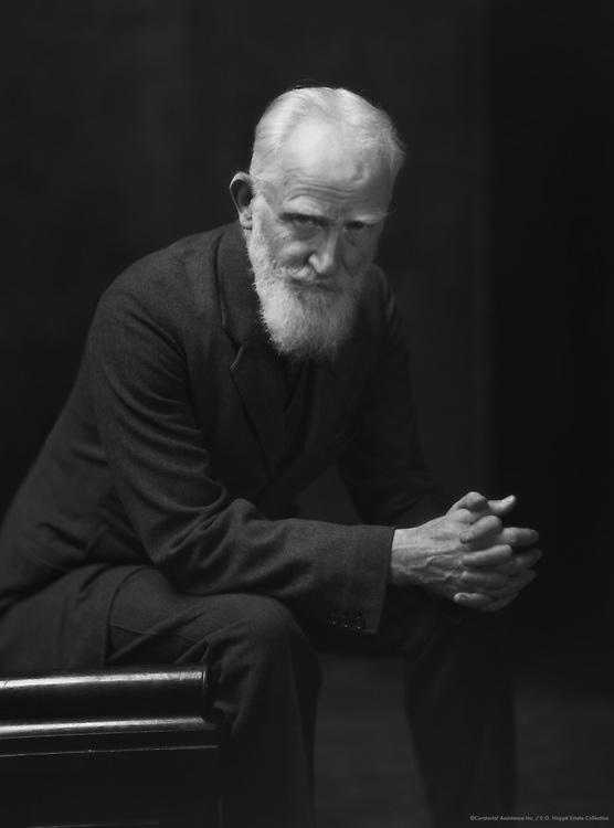George Bernard Shaw, Irish Playwright and Author, 1923