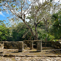 Oratorio de la Elite at San Gervasio near San Miguel, Cozumel, Mexico<br />