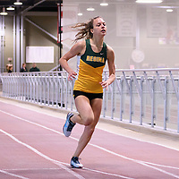 Darby Edwards in action during the Cougars Track&Field Intersquad on November 19 at Centre for Kinesiology, Health and Sport. Credit: Arthur Ward/Arthur Images