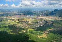 Brasil - Espirito Santo - Serra - Vista aerea do condominio Alphaville - Foto: Gabriel Lordello/ Mosaico Imagem