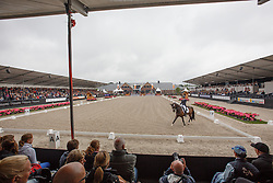 Overzicht arena<br /> Kingsley Donadeo Prijs - Grand Prix Kur<br /> Dutch Championship Dressage - Ermelo 2015<br /> © Hippo Foto - Dirk Caremans<br /> 19/07/15