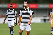 Forest Green Rovers Fabien Robert(26) during the The FA Cup 4th qualifying round match between Sutton United and Forest Green Rovers at Gander Green Lane, Sutton, United Kingdom on 15 October 2016. Photo by Shane Healey.
