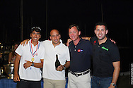 Andre Fonseca and crew accept the award for 1st Place at the 49er Nationals in Miami, FL