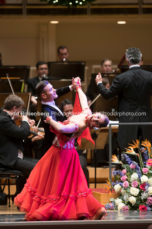 12/30/17 3:05:46 PM -- Chicago, IL, USA<br /> Attila Glatz Concert Productions' &quot;A Salute to Vienna&quot; at Orchestra Hall in Symphony Center. Featuring the Chicago Philharmonic <br /> <br /> &copy; Todd Rosenberg Photography 2017