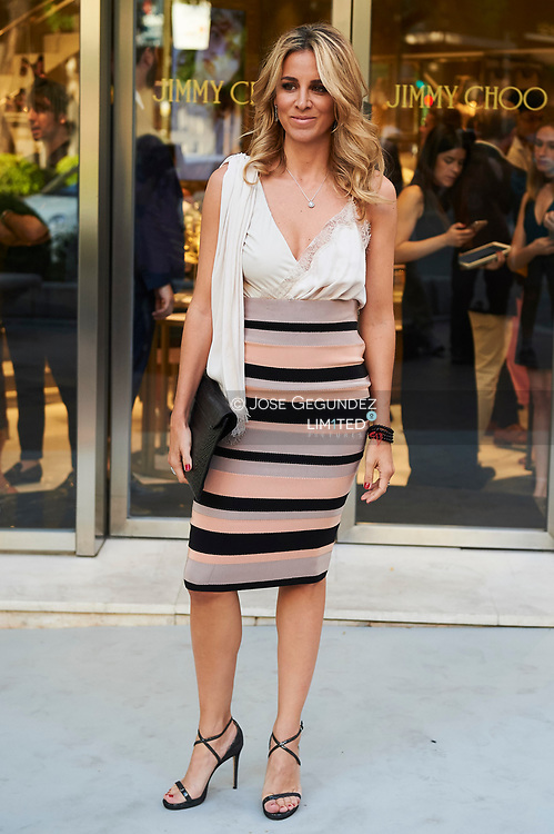 Alejandra Silva attended the Reopening of Jimmy Choo store in Madrid on June 13, 2017