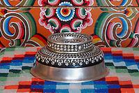Mongolie. Province de Tov. Interieur de yourte. // Mongolia. Tov province. Inside yurt.
