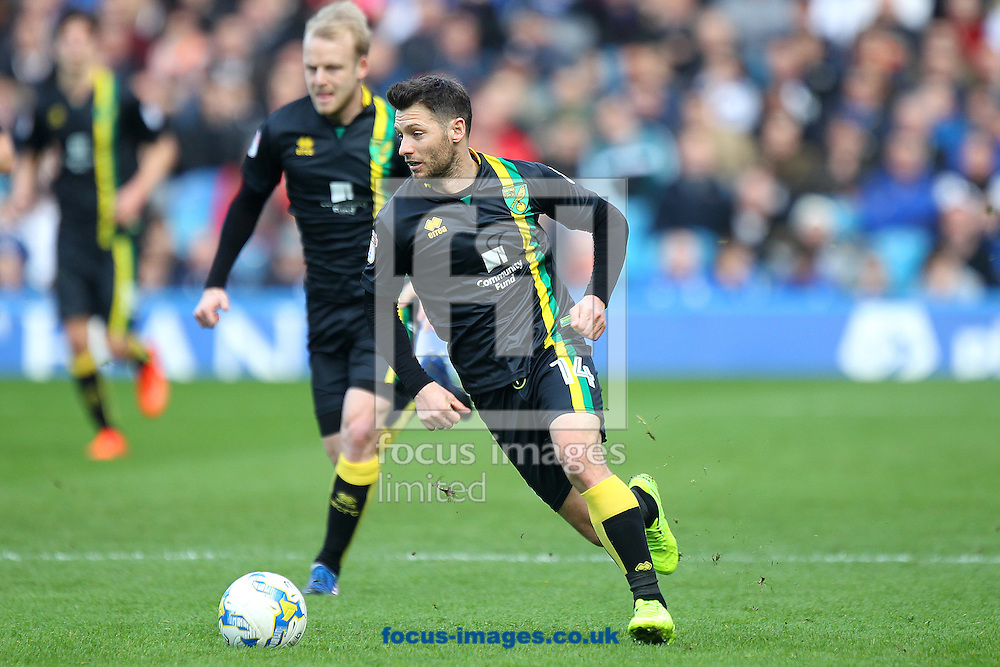 Wes Hoolahan of Norwich in action during the Sky Bet Championship match at Hillsborough, Sheffield<br /> Picture by Paul Chesterton/Focus Images Ltd +44 7904 640267<br /> 04/03/2017
