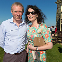 Timmy Dooley TD with his wife Emer