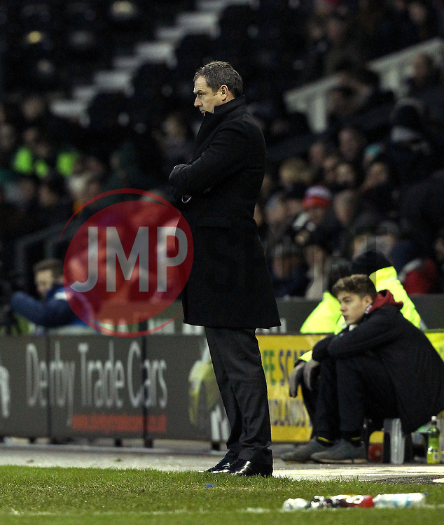 Derby County Manager Paul Clement - Mandatory byline: Robbie Stephenson/JMP - 16/01/2016 - FOOTBALL - iPro Stadium - Derby, England - Derby County v Birmingham City - Sky Bet Championship