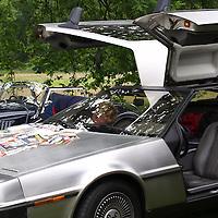 DeLorean, British Autojumble Waalwijk, Netherlands, on 30 June 2013