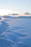 Hammerfest near to sunset.