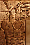 Lion-headed god Apedemak from the wall decoration of a temple Meroitisch, BC to 100 AD Sudan Temple 200 Khartoum.