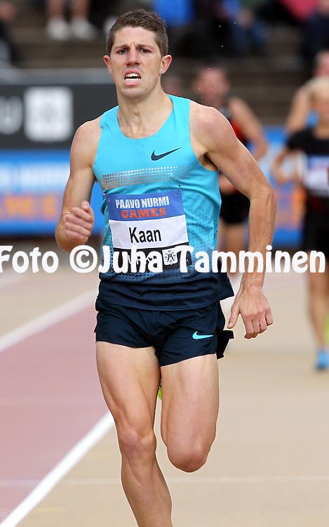 16.6.2013, Paavo Nurmen stadion, Turku.<br /> Paavo Nurmi Games 2013<br /> Miehet 1500 m - 1500 metres Men<br /> James Kaan - Australia