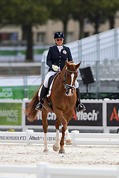 Jutta Rus Machan, (AUT), Prada - Individual Test Grade IV Para Dressage - Alltech FEI World Equestrian Games™ 2014 - Normandy, France.<br /> © Hippo Foto Team - Jon Stroud <br /> 25/06/14