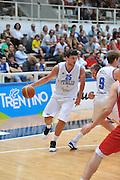 TRENTO TRENTINO BASKET CUP - 07082013 - ITALIA GEOGIA<br /> NELLA FOTO : ALESSANDRO GENTILE<br /> FOTO CIAMILLO