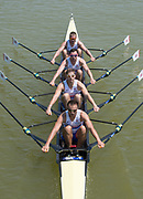 Plovdiv BULGARIA. 2017 FISA. Rowing World U23 Championships. <br /> GBR BM4X. Bow. LEASK, Harry, LAW, Rowan, GLENISTER, Harry, JOEL, Andrew<br />  <br /> Semifinal A/B.<br /> <br /> 12:48:47  Saturday  22.07.17   <br /> <br /> [Mandatory Credit. Peter SPURRIER/Intersport Images].