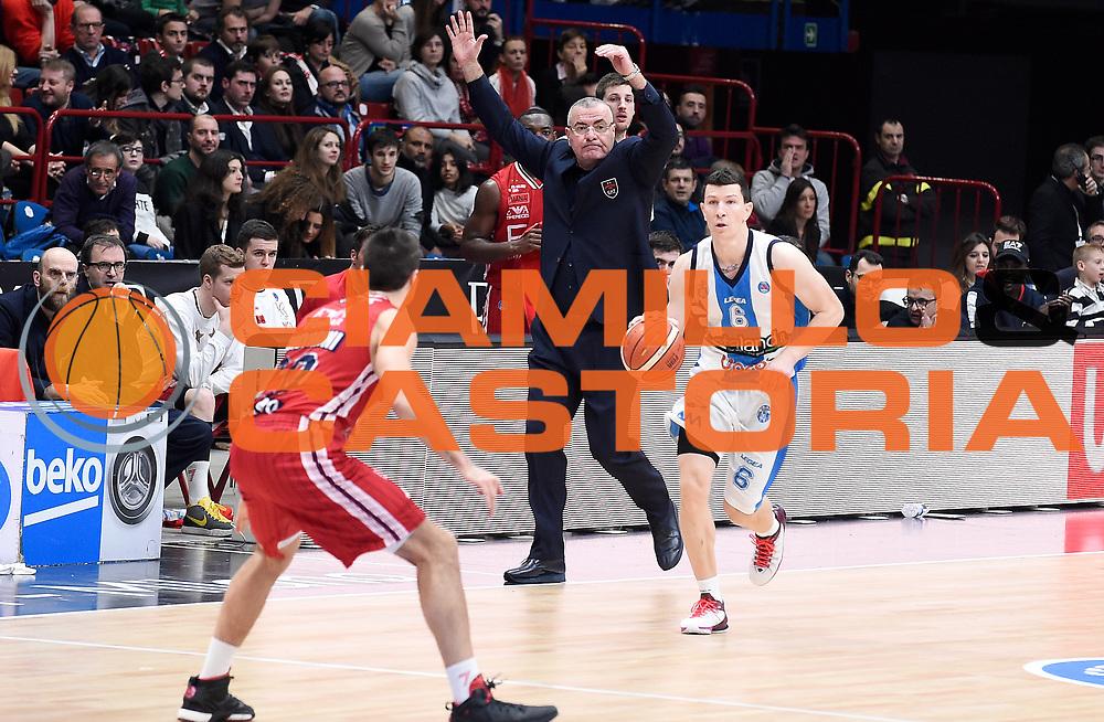 DESCRIZIONE : Milano Campionato Lega A 2015-16 Olimpia EA7 Emporio Armani Milano Betaland Capo d'Orlando<br /> GIOCATORE : Vlado Ilievski<br /> CATEGORIA : Palleggio Controcampo Composizione<br /> SQUADRA : Betaland Capo d'Orlando<br /> EVENTO : Campionato Lega A 2015-16<br /> GARA : Olimpia EA7 Emporio Armani Milano Betaland Capo d'Orlando<br /> DATA : 13/12/2015<br /> SPORT : Pallacanestro <br /> AUTORE : Agenzia Ciamillo-Castoria/A.Giberti<br /> Galleria : Campionato Lega A 2015-16  <br /> Fotonotizia : Milano Campionato Lega A 2015-16 Olimpia EA7 Emporio Armani Milano Betaland Capo d'Orlando<br /> Predefinita :