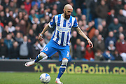 Brighton defender Bruno Saltor during the Sky Bet Championship match between Brighton and Hove Albion and Derby County at the American Express Community Stadium, Brighton and Hove, England on 2 May 2016. Photo by Bennett Dean.