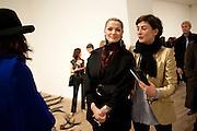 FABIOLA QUIROZ; REEM DEBS; FRANCESCA AMFITEROF, Gabriel Orozco reception, Tate Modern, London. 18 January 2010. .-DO NOT ARCHIVE-© Copyright Photograph by Dafydd Jones. 248 Clapham Rd. London SW9 0PZ. Tel 0207 820 0771. www.dafjones.com.