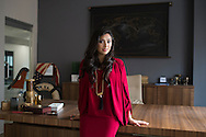Shama Hyder poses for a portrait on March 12, 2015 in Dallas, Texas. (Cooper Neill for Cosomopolitan)