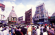 IM# 005:The great Temple Car festival of Sri Kapaleeswarar Temple in Mylapore,Chennai,Tamilnadu,India.