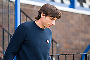 Crawley Town manager Gabriele Cioffi before the EFL Sky Bet League 2 match between Macclesfield Town and Crawley Town at Moss Rose, Macclesfield, United Kingdom on 7 September 2019.
