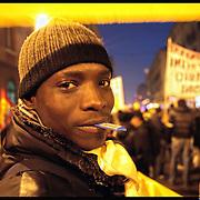 Immigrati in sciopero per diritti e contro razzismo