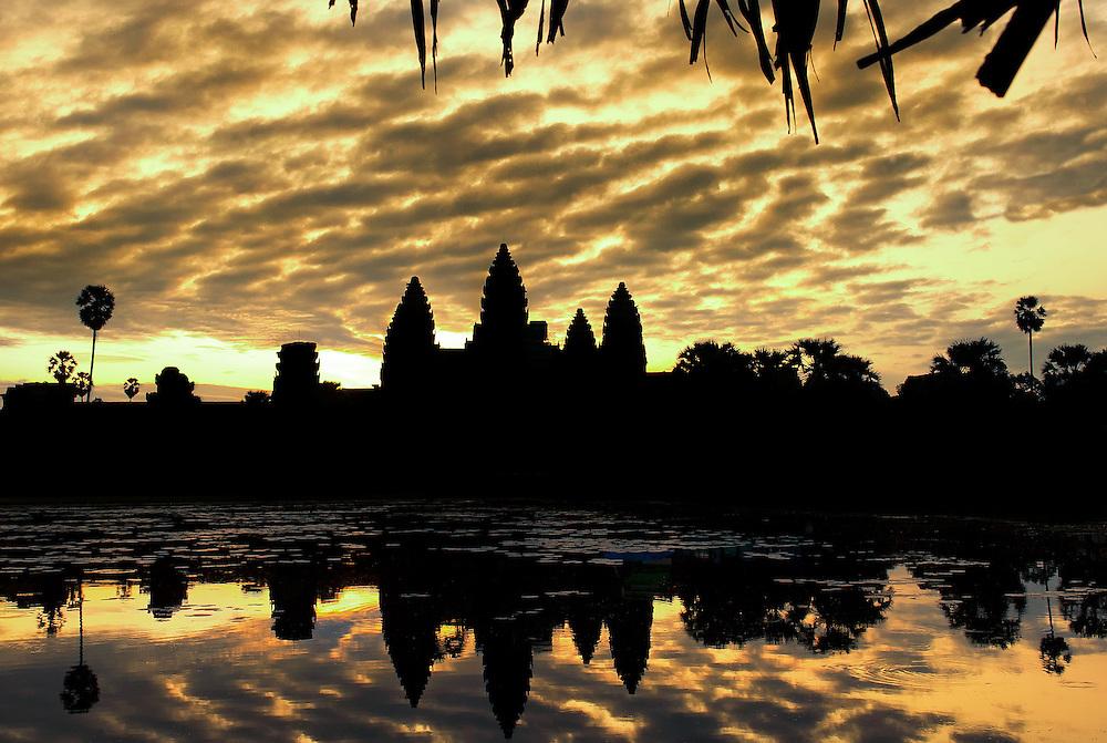 Angkor Wat temple - Siem Reap, Cambodia.
