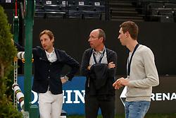 Devos Pieter, Devos Wouter, Devos <br /> LONGINES FEI World Cup™ Finals Paris 2018<br /> © Hippo Foto - Stefan Lafrentz<br /> 15/04/2018