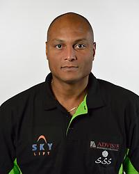 19-10-2015 NED: Teampresentatie Advisie-SSS, Barneveld<br /> Selectie 2015-2016 SSS Barneveld / Trainer/coach Albert Cristina of SSS