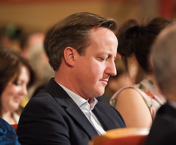 David Cameron during the Conservative Party Conference, ICC, Birmingham, Great Britain, October 7, 2012. Photo by Elliott Franks / i-Images.